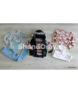 Dámsky jesenný mix CREAM v. S/M (UK6-10, EU34-38) - 5 kg balík second hand