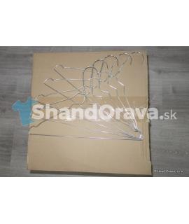 Detské drôtené vešiaky balenie 500 ks - 0,06 €/ks