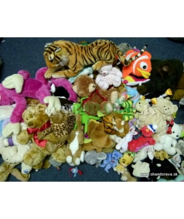 Plyšové hračky - EXTRA - 10 kg balík second hand