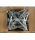 Drôtené vešiaky - 0,08 € / ks pri odbere 50-499 kusov